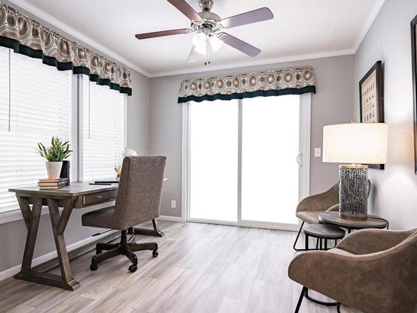 Stylish manufactured home interior