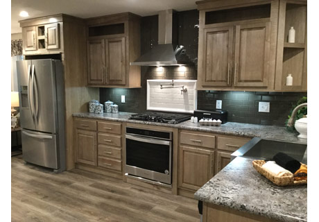Champion Homes manufactured home kitchen