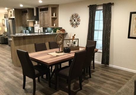 Champion Manufactured Home dining room
