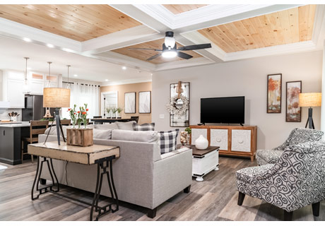 Champion Manufactured Home living room